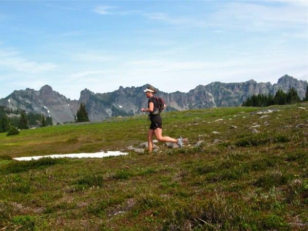 Mount Rainier trail running