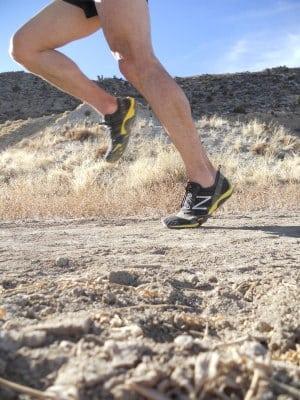New Balance Minimus Trail in motion