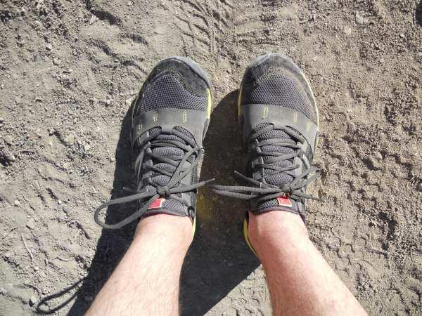 New Balance Minimus Trail upper