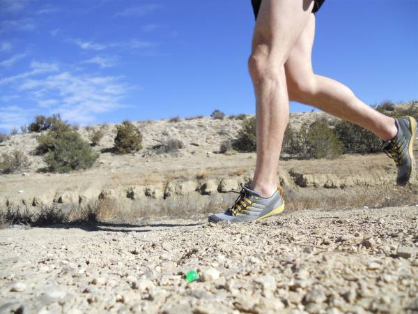 Merrell Trail Glove in motion