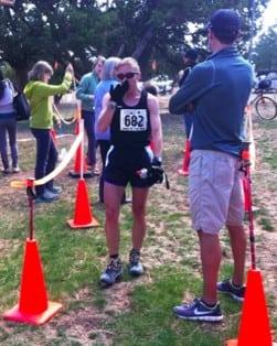 Erica Baron - 2011 Jemez Half Marathon
