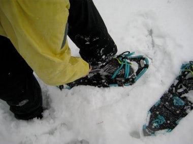Snowshoeing Salomon XT Wings 2 GTX