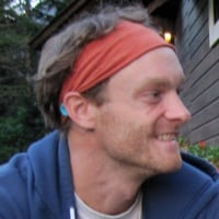 Geoff Roes smiling