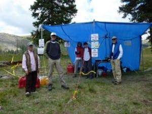 Pole Creek Aid Station