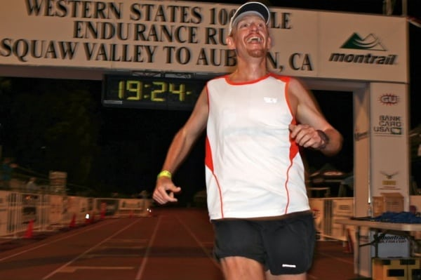 Bryon Powell finish 2011 Western States 100