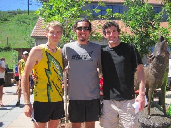 2011 Jupiter Peak Steeplechase - Luke Nelson - Jared Scott - Matt Byrne