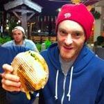 Geoff Roes UTMB 2010 burger