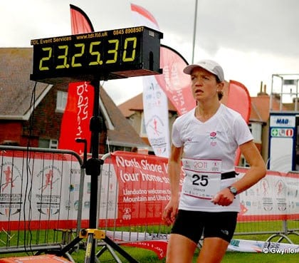 Lizzy Hawker womens 24 hour road run world record
