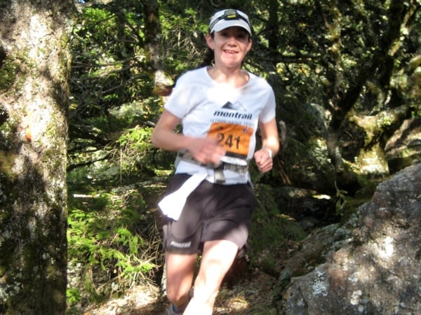 Joelle Vaught 2009 TNF 50 mile