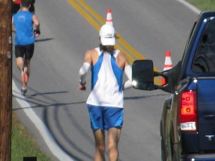 David Riddle Michael Wardian 2011 JFK 50 mile