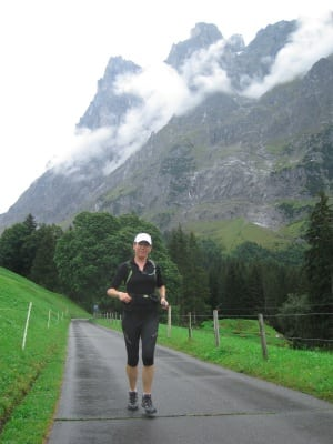 Salomon Exo 3-4 Tights women - Alps