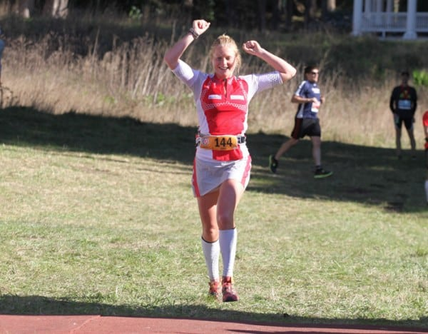 Anna Frost 2011 TNF 50 victory