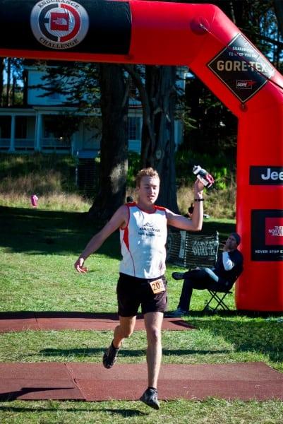 Dakota Jones 2011 TNF 50 finish