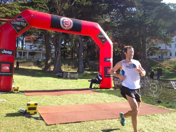 Mike Wolfe 2011 TNF 50 finish Powell