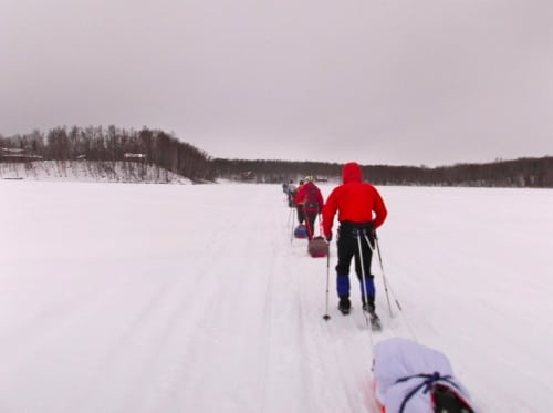Iditarod Trail Invitational 2012 - Knik Lake
