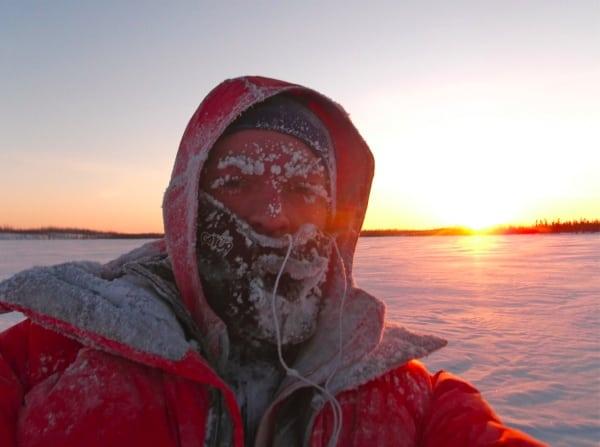 Iditarod Trail Invitational 2012 - Geoff Roes near finish