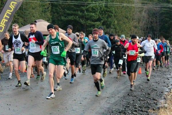 2012 Hillbilly Half Marathon start