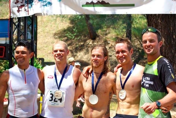 2012 Leona Divide 50 Mile Jorge Maravilla, Jason Wolfe,Timothy Olson, Jason Schlarb, Dylan Bowman
