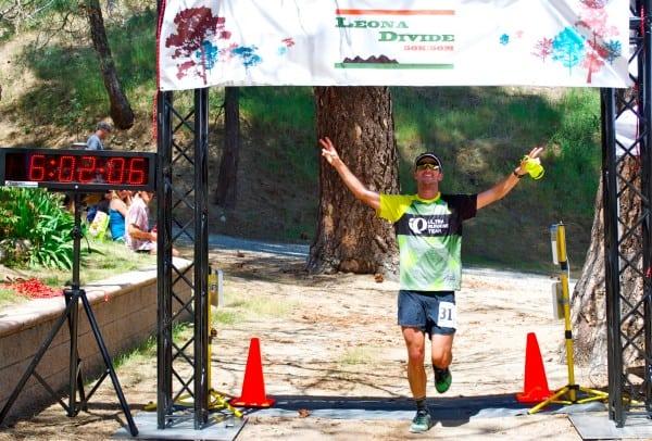Dylan Bowman 2012 Leona Divide 50 Mile - finish