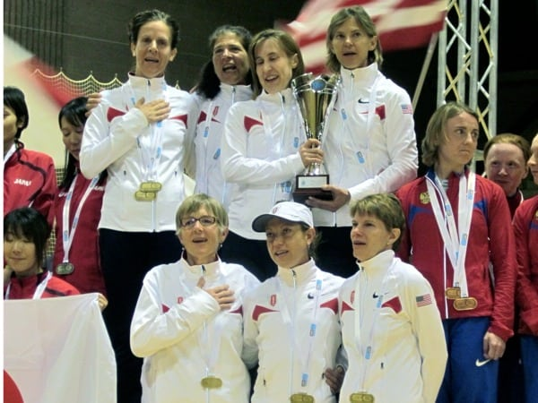 US Womens Team 2012 IAU 100k World Championships