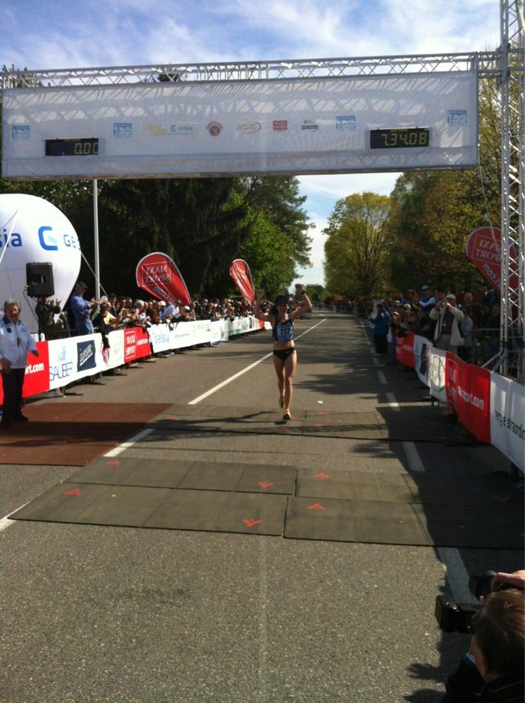 Amy Sproston 2012 IAU 100k World Championships