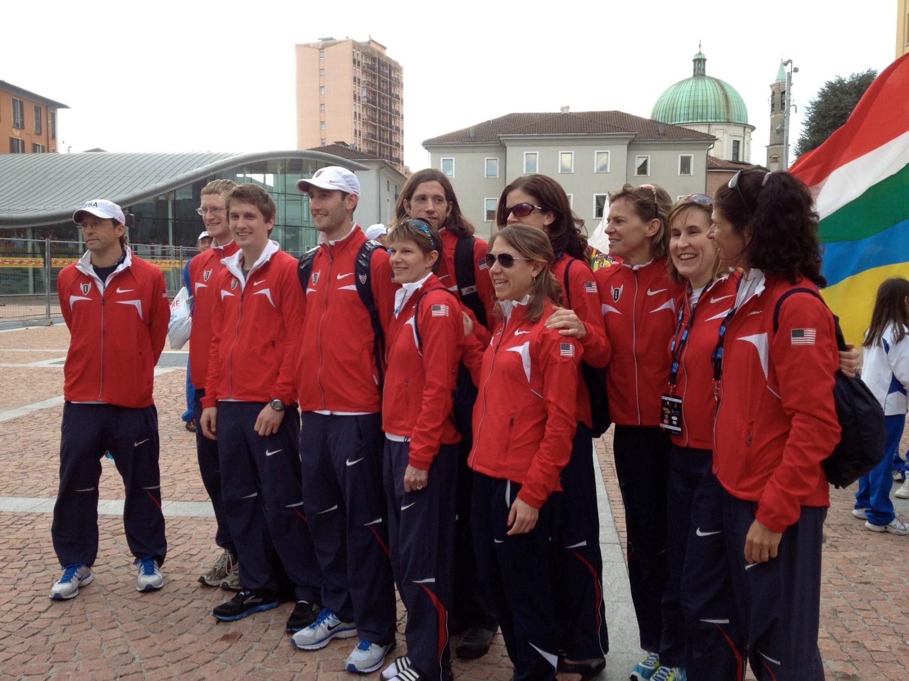 Team USA minus Jon Olsen - 2012 IAU 100k World Championships