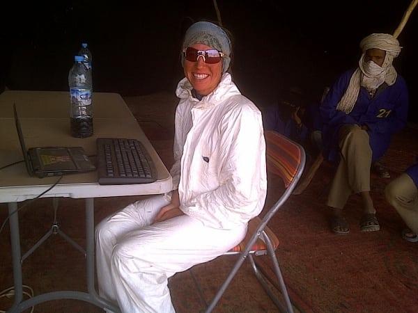 Meghan Hicks Marathon des Sables 2012