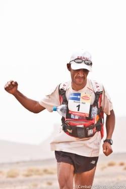 Marathon des Sables 2012 - Stage 3 - Rachid El Morabity