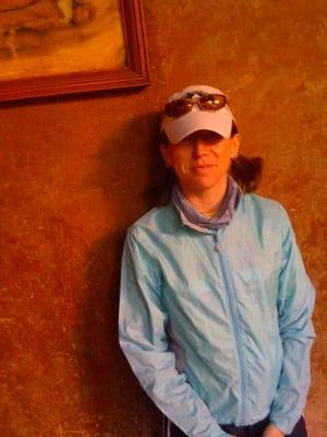 Meghan Hicks Marathon des Sables 2009
