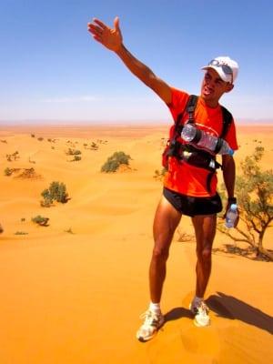 Rachid El Morabity 2012 Marathon des Sables