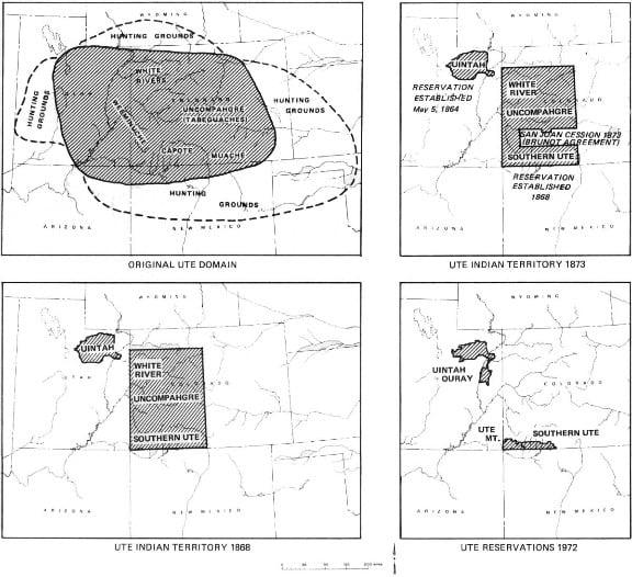 Ute Territory Map