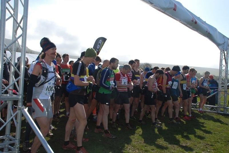 2012 Three Peaks Race start Rickey Gates