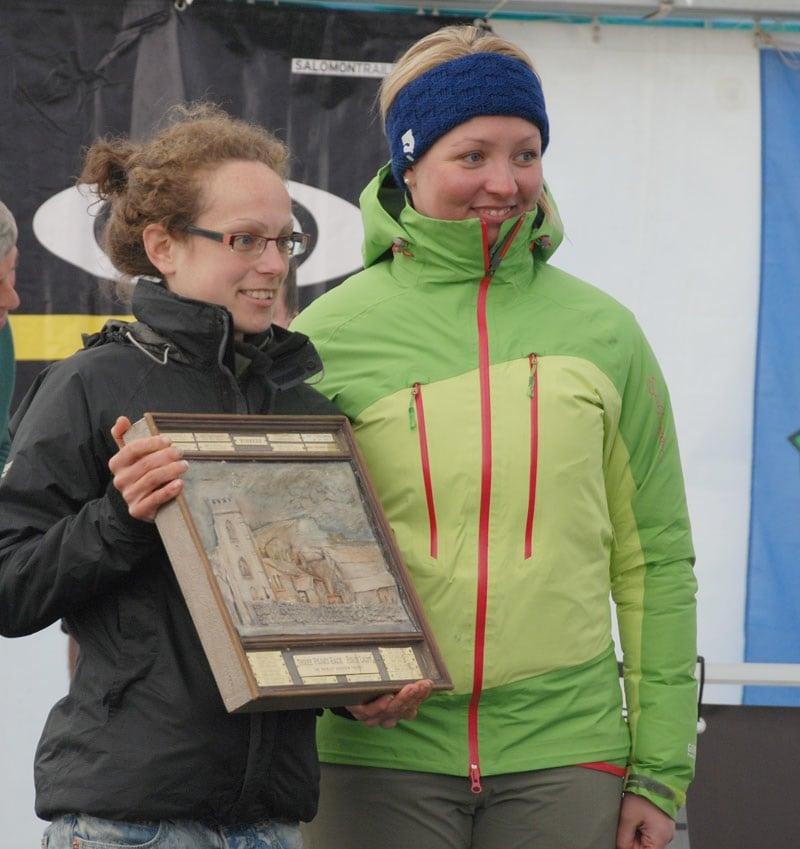 Sarah O'Neil 2012 Three Peaks Race