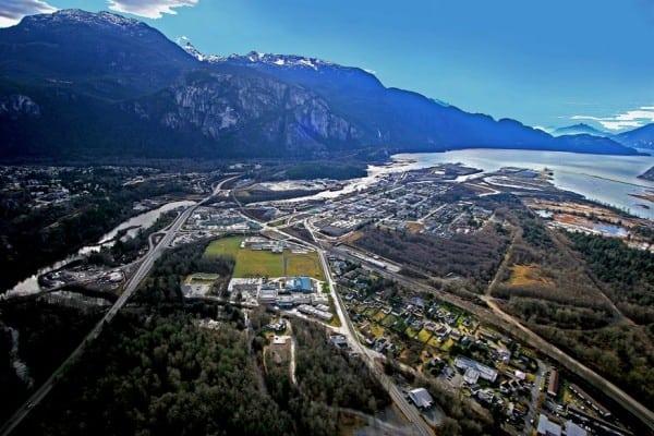 Squamish 50 - start and finish