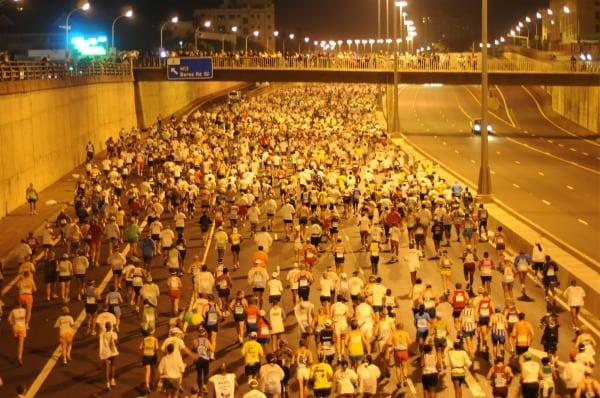 Early Comrades Marathon miles in Durban