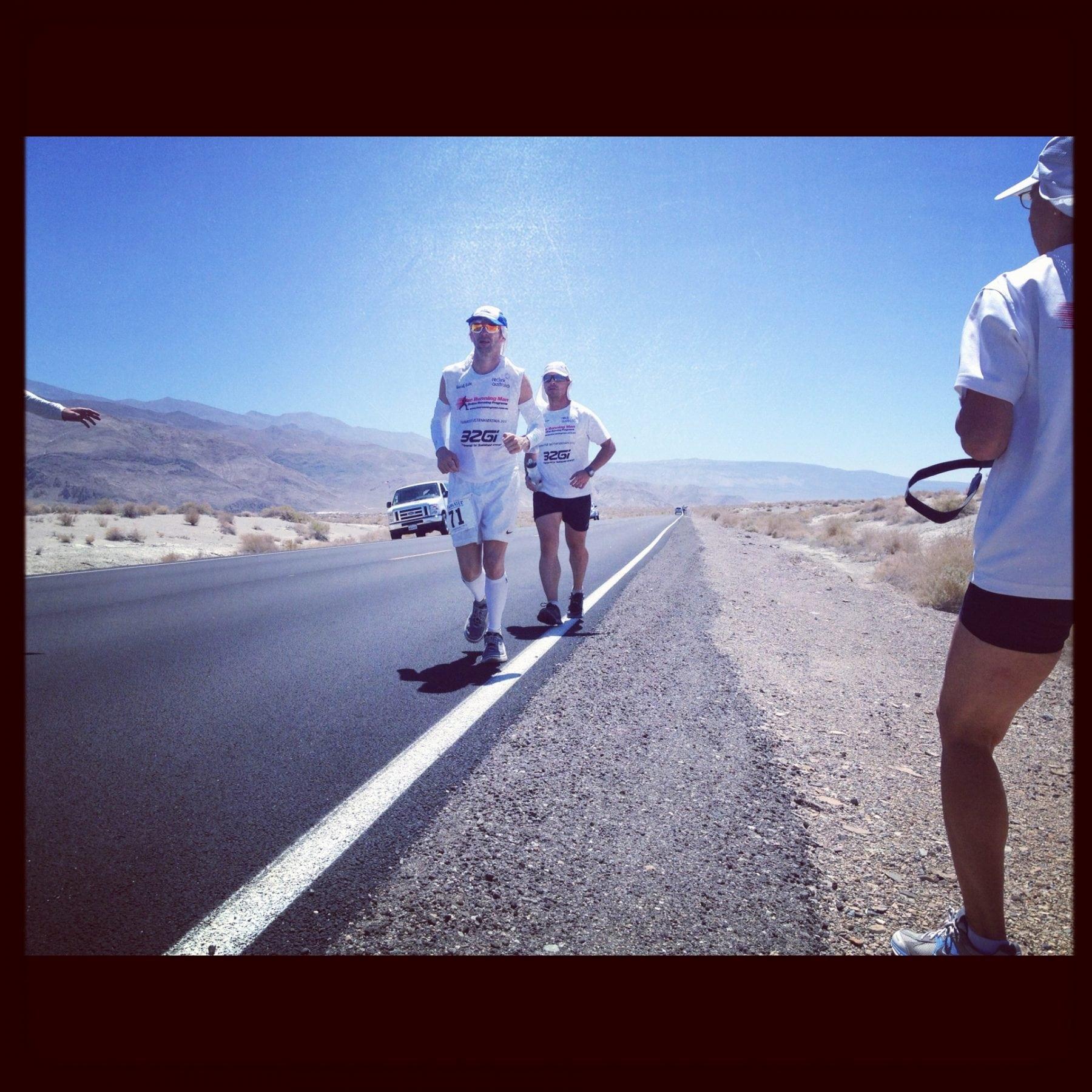 David Eadie - Badwater Ultramarathon