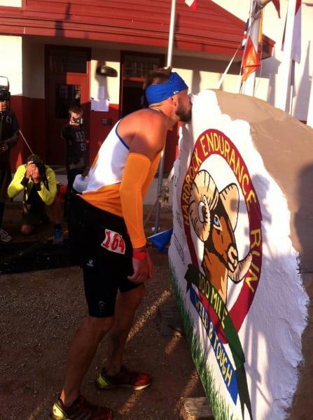 Hal Koerner - 2012 Hardrock 100 - finish