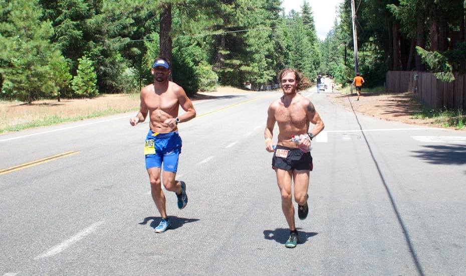 Timothy Olson - 2012 Western States 100 - Foresthill