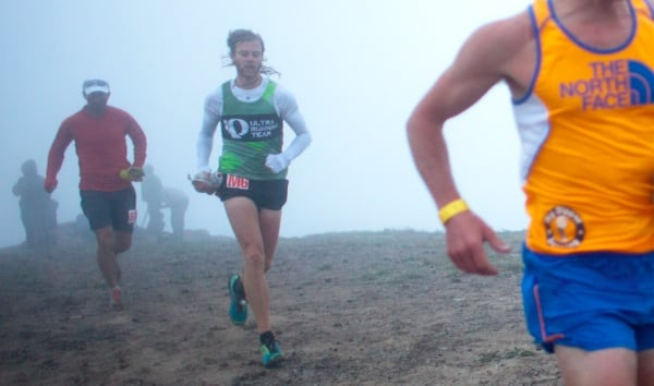 Timothy Olson - 2012 Western States 100 - Up Top