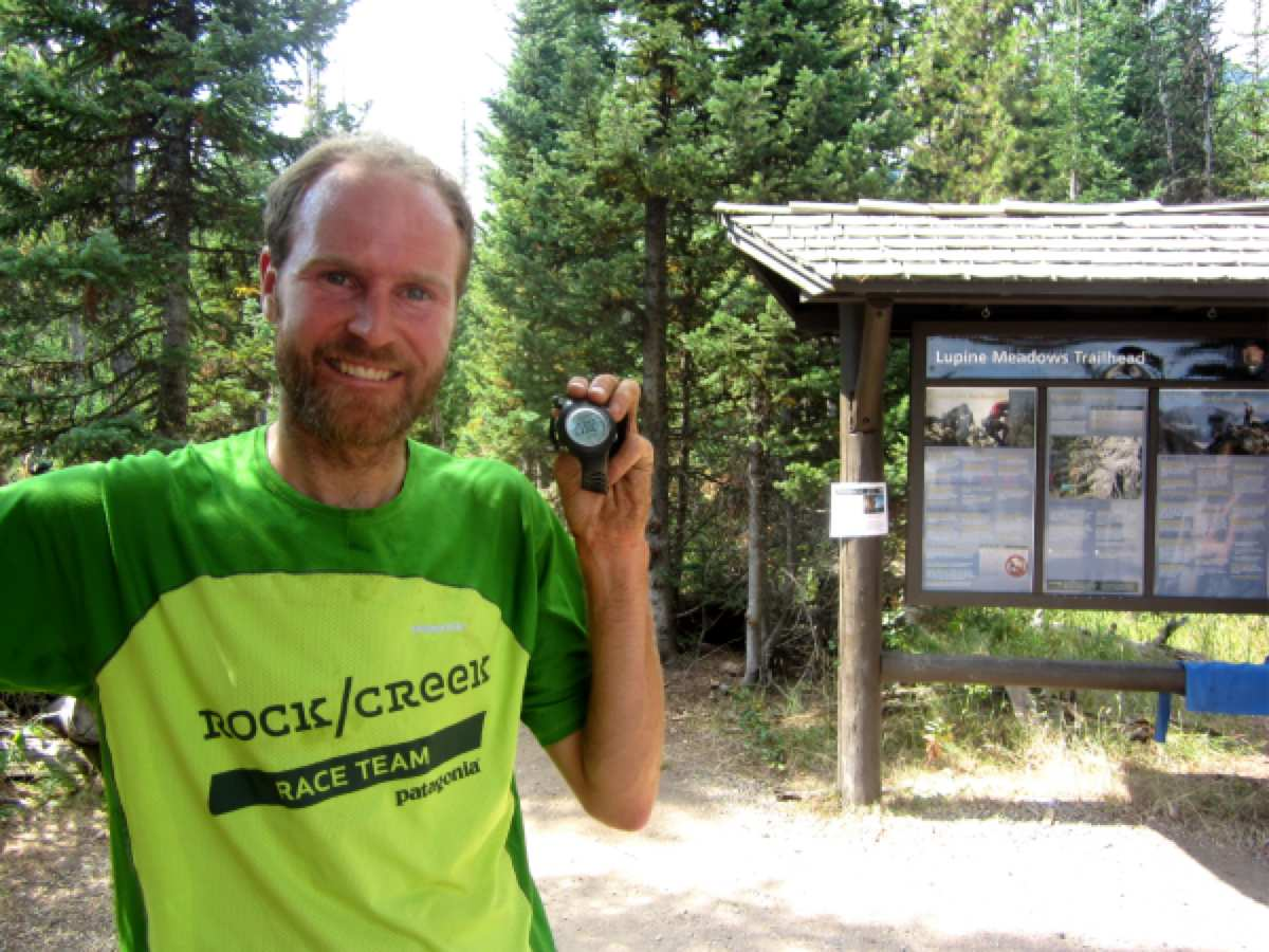 Andy Anderson Grand Teton FKT