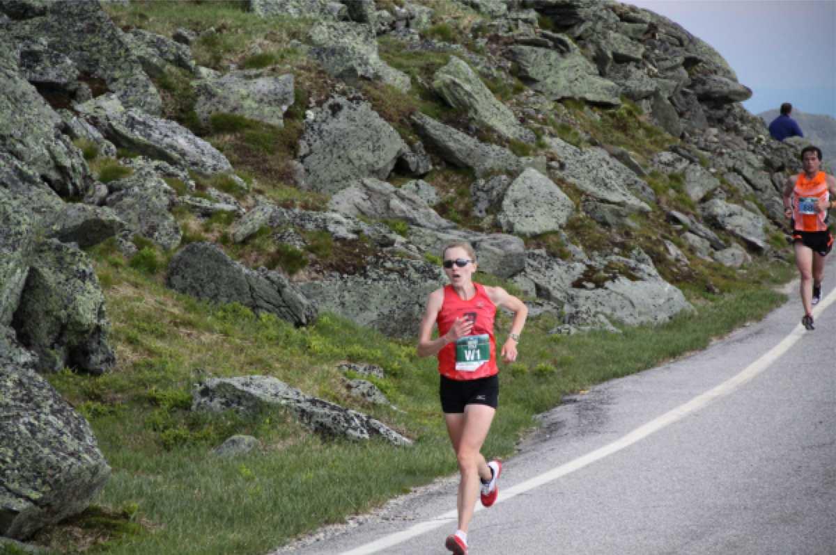 Kim Dobson - 2012 Mount Washington Road Run
