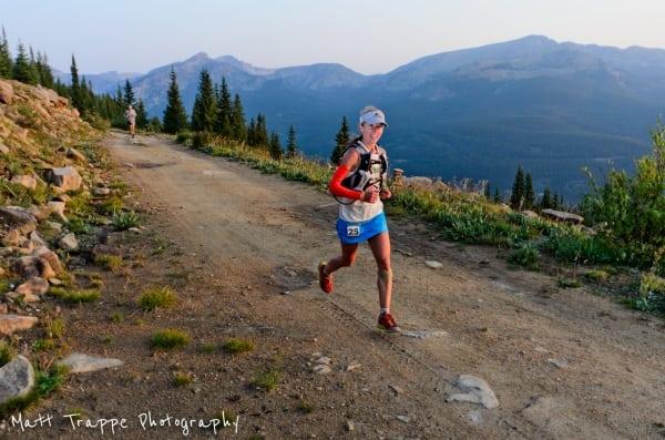 2012 Leadville 100 - Tina Lewis - Haggerman Pass Road