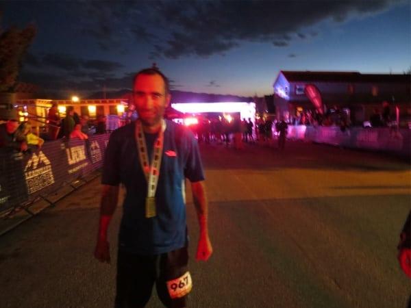 Zeke Tiernan - 2012 Leadville 100 - Twilight finish