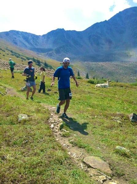 Zeke Tiernan - 2012 Leadville 100 - Hope Pass 2