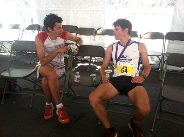 2012 Pikes Peak Marathon - Kilian Jornet - Max King