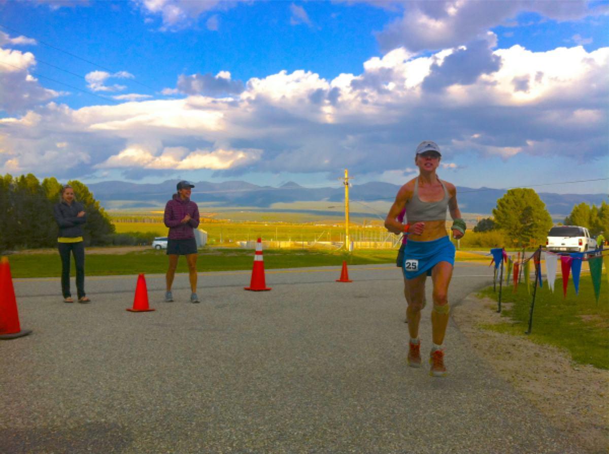 Tina Lewis - 2012 Leadville 100