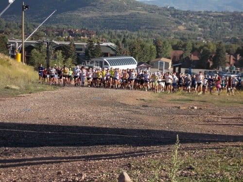 2012 Jupiter Peak Steeplechase - start