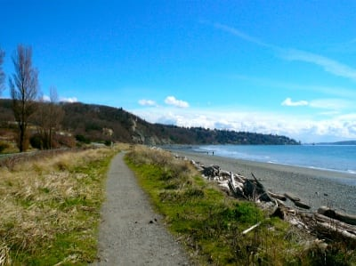 Seattle trail running - Discovery Park
