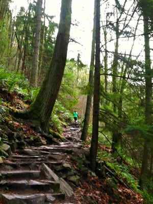 Seattle trail running - Issaquah Alps