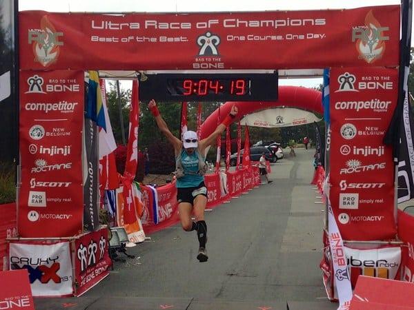 2012 UROC 100k - Ellie Greenwood finish